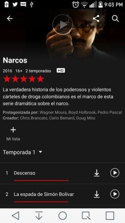Descargar Series de Netflix en Android