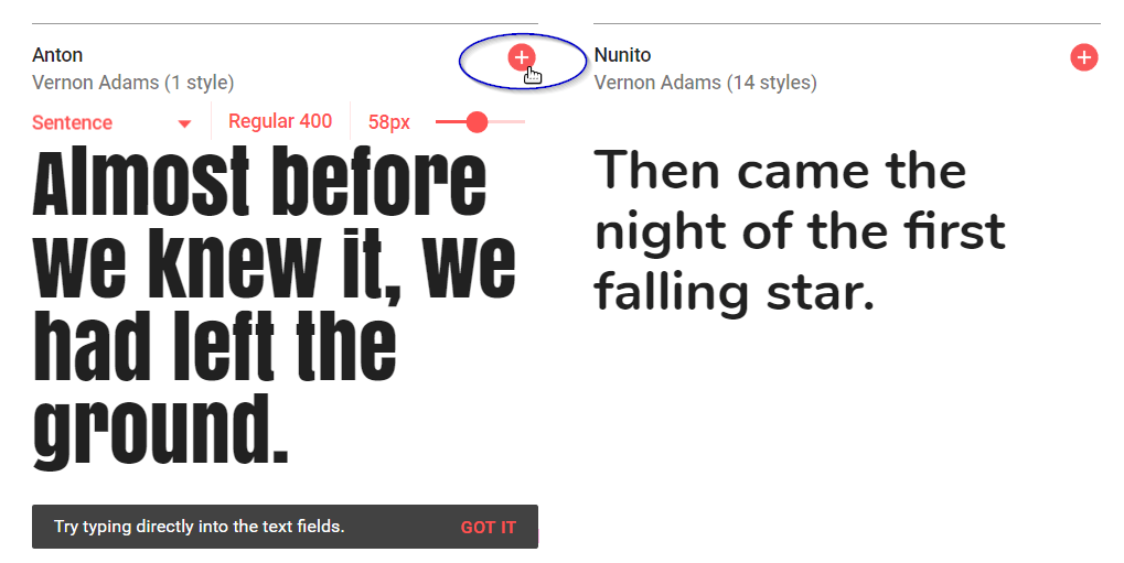 Descargar Tipografia Google Fonts