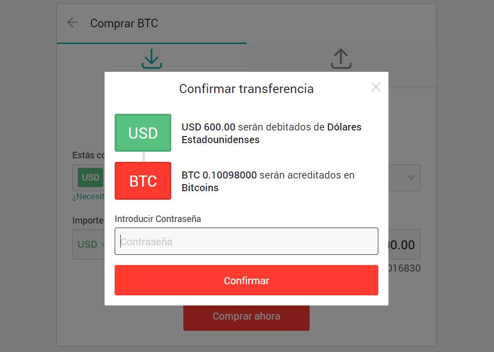 Comprar bitcoin tarjeta crédito