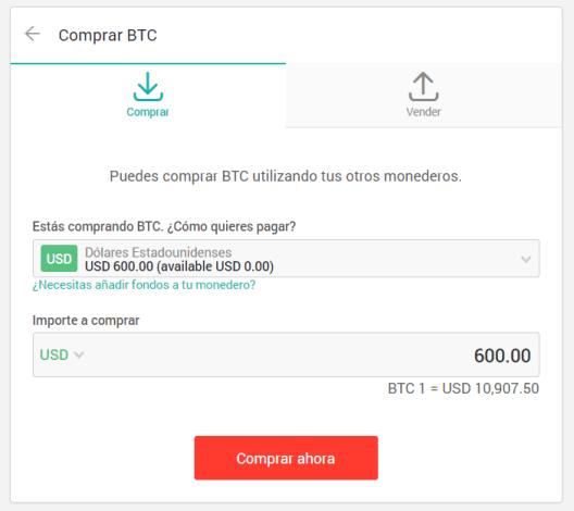 Comprar Bitcoins en Xapo