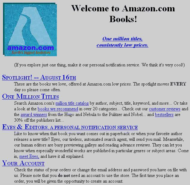 Amazon.com 1995