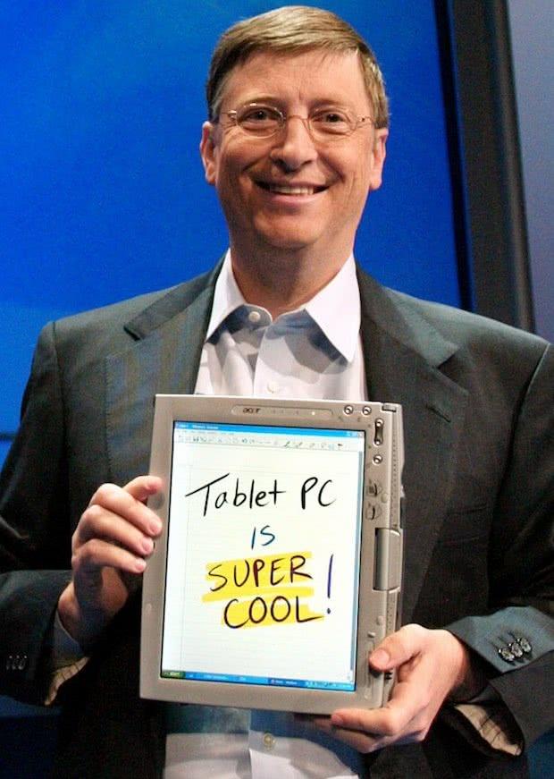 Tablet PC Microsoft
