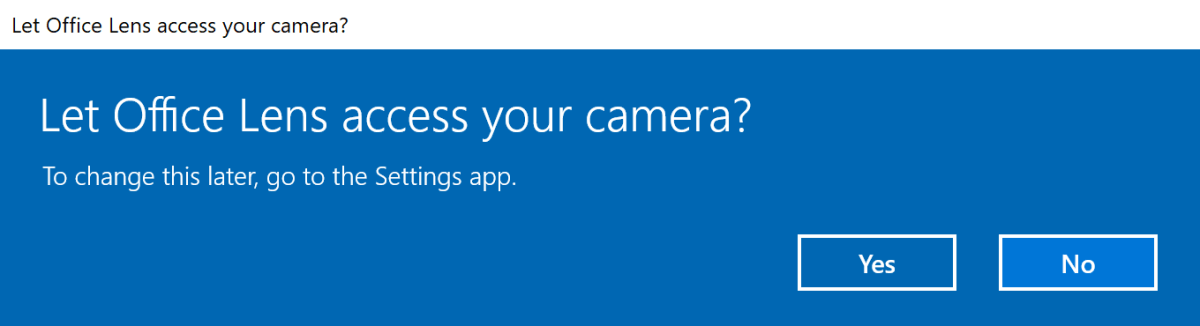 Permisos de aplicaciones de Windows
