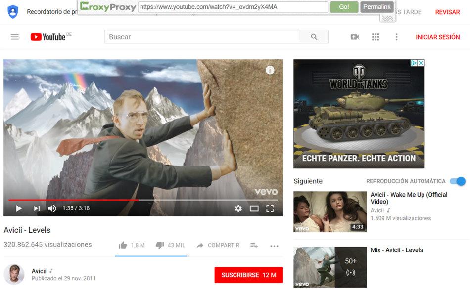 CroxyProxy Youtube