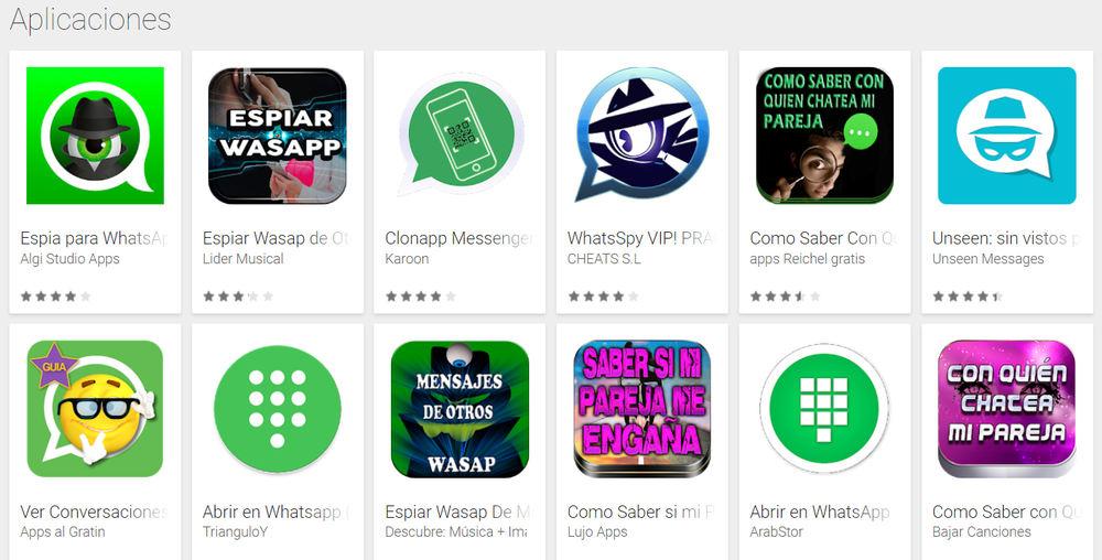 Apps para espiar whatsapp