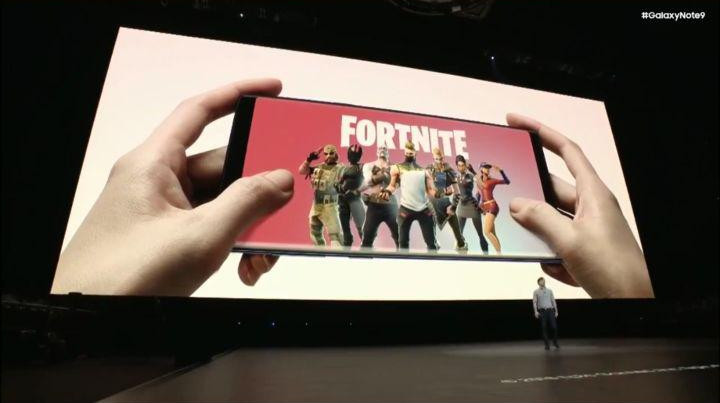 Fortnite para Android Galaxy Note 9