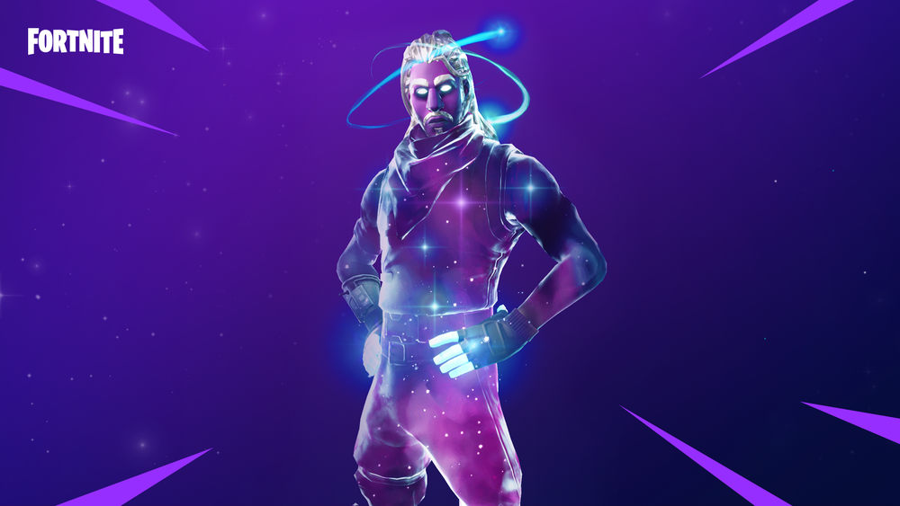 Traje de Galaxia de Fortnite