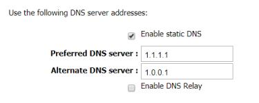 Cambiar las DNS en el Módem