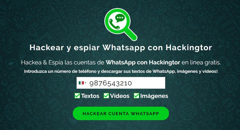 Hackingtor WhatsApp