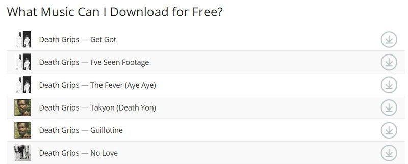 Last.fm música gratis en MP3