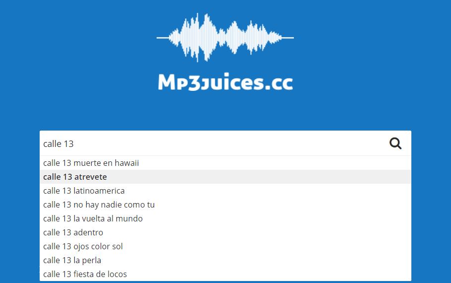 MP3Juices buscar canciones