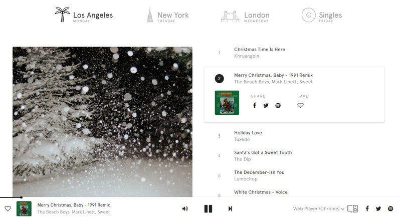 Noon Pacific, música curada de Spotify