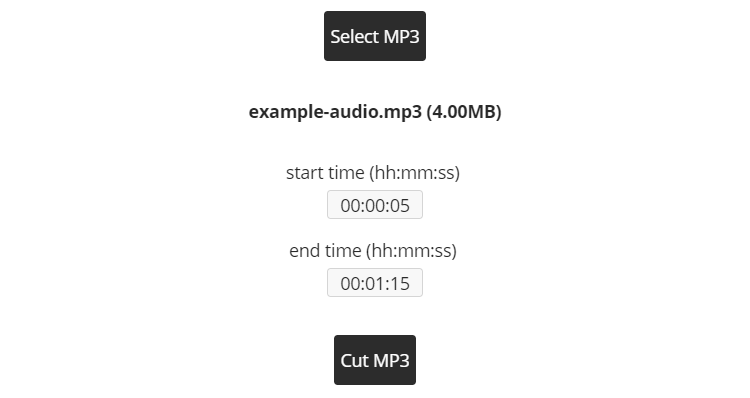 Cortar MP3