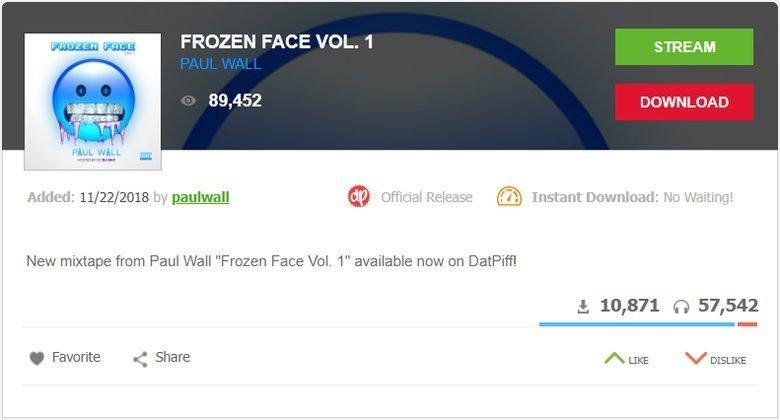 DatPiff, escuchar música gratis online
