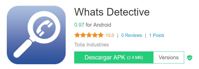 Descargar APK Whats Detective gratis
