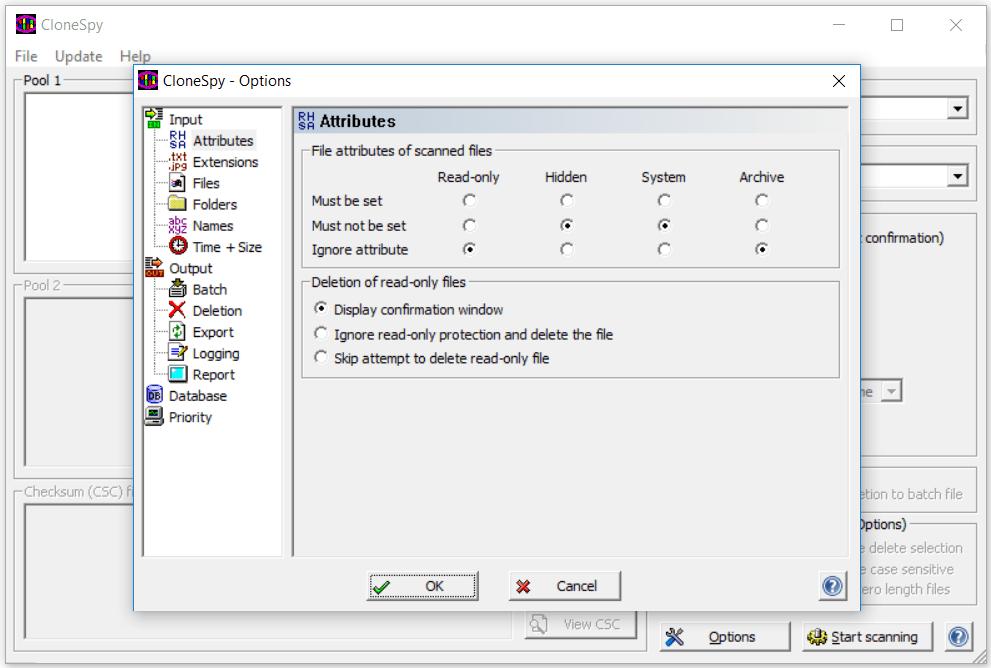 CloneSpy buscar archivos repetidos