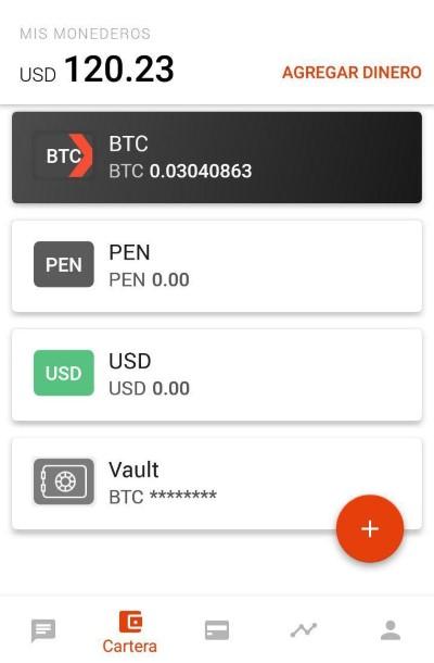 Cartera Bitcoin