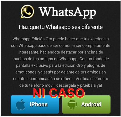 WhastApp Gold oro