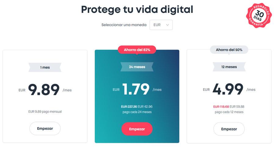 Surfshark precios VPN barata