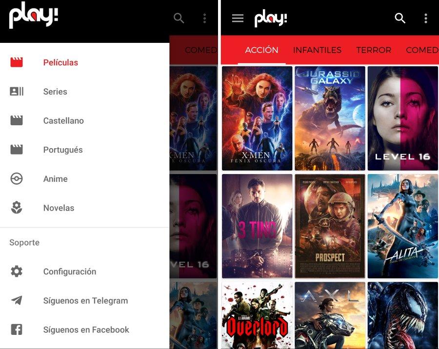 Play La App De Android Para Ver Películas Gratis Sin Apk