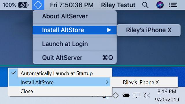 Instalar AltStore