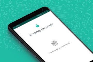 Cómo bloquear WhatsApp con huella dactilar