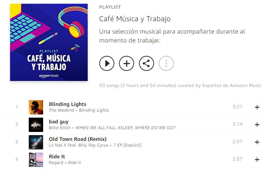 Música Amazon