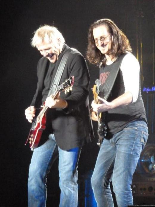 Geddy and Alex in Birmingham