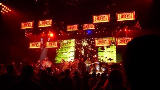 Rush @ Sheffield Arena - Lights
