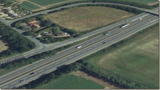 Newmarket Road and the A14