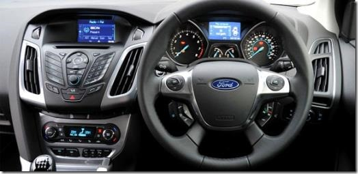 Ford Focus cockpit