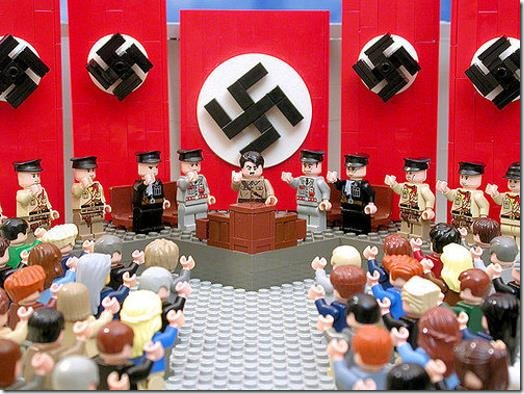 Lego Hitler scene - NOT INTENDED TO ENDORSE HITLER OR FASCISM, BUT USED FOR ILLUSTRATION PURPOSES