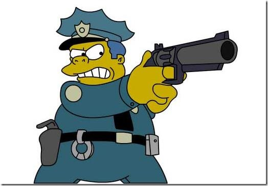 Chief Wiggum - of Leicestershire Police?