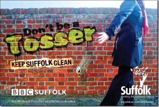 Suffolk litter campaign