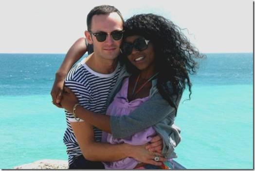 Desreen Brooks with husband Benjamin