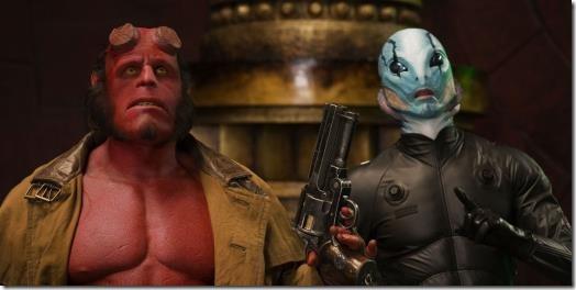 Hellboy and Abe Sapien