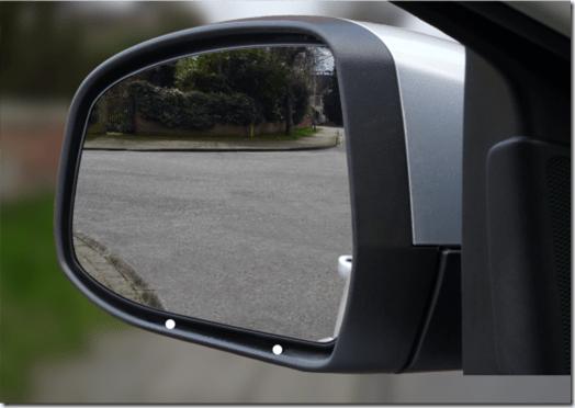 Reversing around a corner - the point of turn