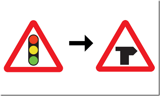 Traffic lights to assumed priority