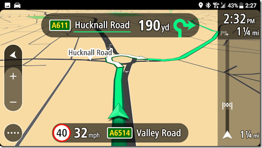 TomTom Screen Grab