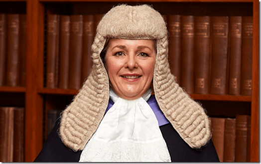 """Sarah Buckingham - some sort of """"legal"""" authority, apparently"""