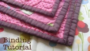 Fast Machine Quilt Binding 101 - Diary of a Quilter - a quilt blog : binding a quilt for beginners - Adamdwight.com