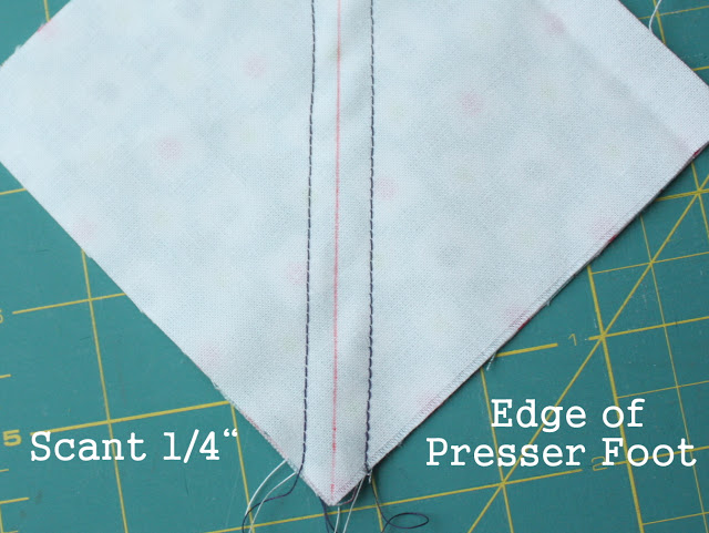 "what is a scant 1/4"" seam allowance"