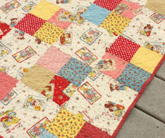 fast-four-patch-baby-quilt
