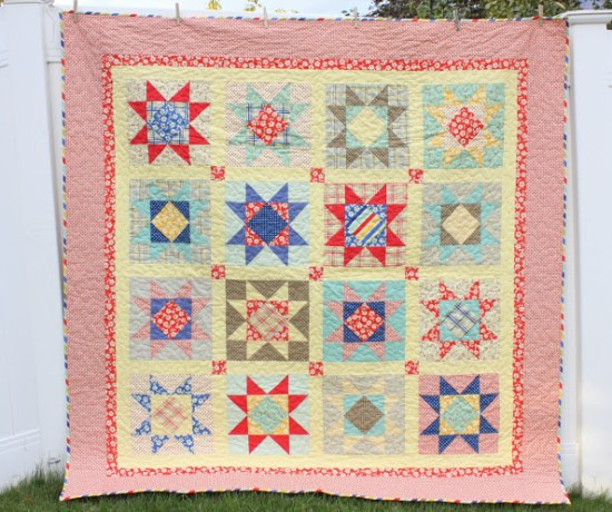 Seaside Stars quilt pattern by Amy Smart