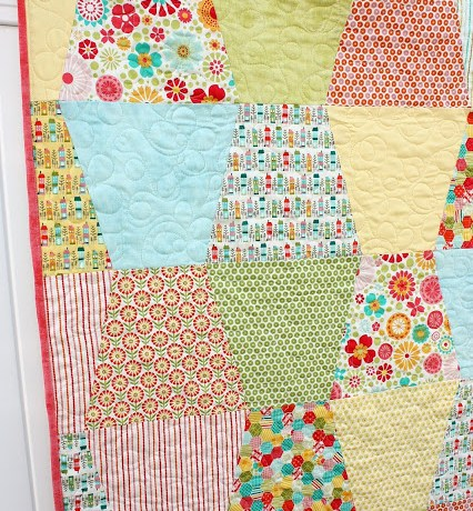 Tumbler Quilt Tutorial by Amy Smart
