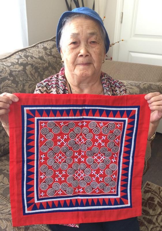 hmong sewing art