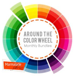 Marmalade Fabrics Around The Color Wheel Bundles Diary