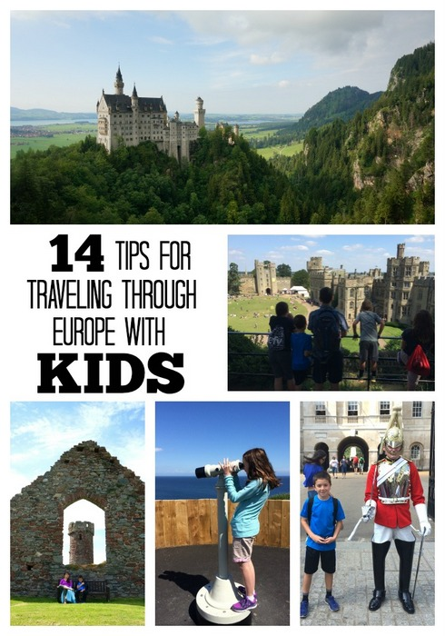Tips - Traveling to Europe with Kids