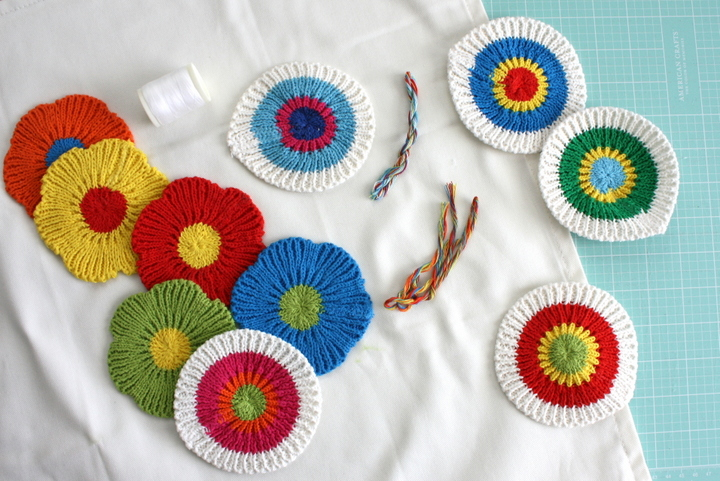 mjuknava crocheted patches