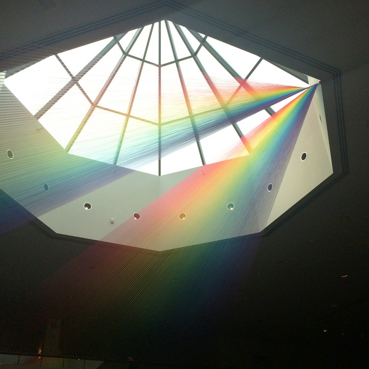 rainbow-string-display